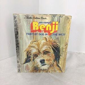 Vintage Benji Fastest Dog In The West Book